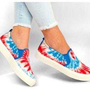 Skechers Poppy Hippie Hype Sneakers Tie Dye USA